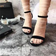 Kristal Tül Çorap Ten Rengi