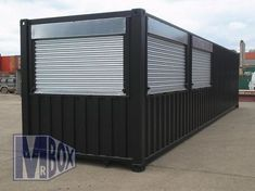 Our customer wanted a travelling Bar that could be shipped around Europe to promote their brand at a series of competitive Sailing Events they sponsor. The Bar was constructed from a new 40' ISO Container, and split into Bar and secure Storage area.