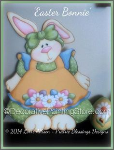 The Decorative Painting Store: Easter Bonnie Pattern by Lorri Allisen, Newly Added Painting Patterns / e-Patterns