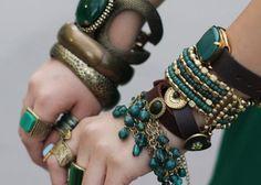 #jewelry #green