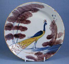 Bristol Delft plate, 1730.   martynedgell.com