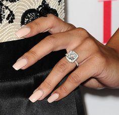 Naya Rivera's wedding ring will inspire your dream band.