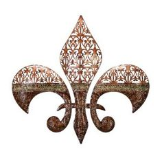 I actually have this exact Fleur de Lis hanging on my living room wall.