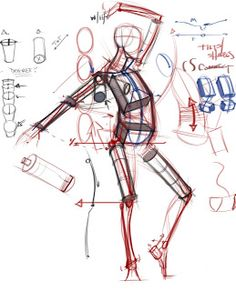 Figure Drawing: Design and Invention Human Anatomy Drawing, Anatomy Study, Body Anatomy, Gesture Drawing, Body Drawing, Anatomy Art, Life Drawing, Drawing Tips, Drawing Tutorials