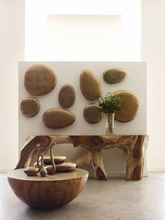 Weird shapes, phillips collection, live edge wood, home trends, wall Small Furniture, Fine Furniture, Table Furniture, Phillips Collection, 3d Wall Art, Wall Décor, Weird Shapes, Live Edge Wood, Home Trends