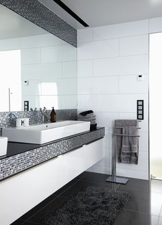Badeværelset i luksusvillaen i Sandnes er inspireret af eksklusive ...
