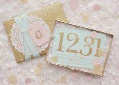 New Year's invitations via Bethany at: http://wakeworkrinserepeat.blogspot.com/2011/12/glitzy-new-years-eve-invites.html     beautiful!!
