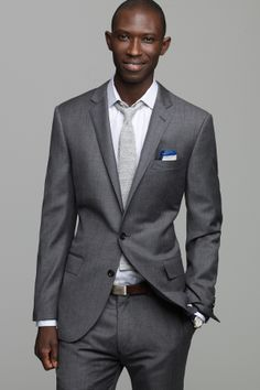 J.Crew's most modern fitting suit in luxurious wool from Lanificio Di Tollegno, one of the oldest mills in Italy. Fully lined two- button closure jacket, six-button closure and fully lined vest, and partially lined, slim fitting trouser.