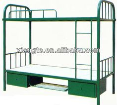 Factory Direct Sale!metal Bunk Bed For School/metal Frames Twin Over Twin Beds…