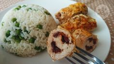 Lemon and Strawberries: Turkey roulades with sun dried tomatoes and mozzar...