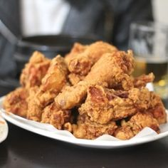 fried chicken - korean style