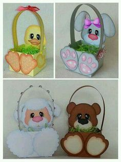 Easy Easter Crafts for Kids to Make Easter Projects, Easter Crafts For Kids, Spring Crafts, Holiday Crafts, Crafts For Kids To Make, Diy And Crafts, Foam Crafts, Paper Crafts, Basket Crafts