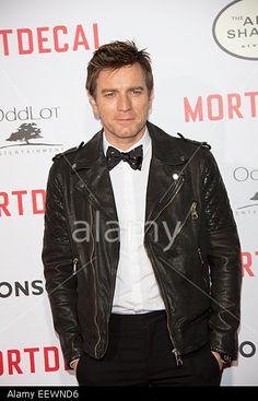 Actor Ewan McGregor arrives at the premiere of Mortdecai in Los Angeles, USA, on 21 January 2015. © dpa picture alliance / Alamy