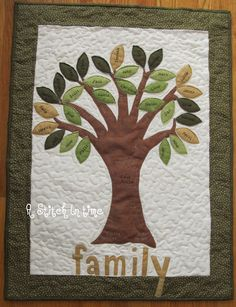 A Stitch in Time: family