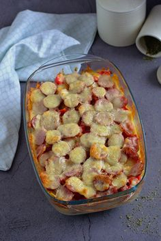Polish Recipes, Hawaiian Pizza, Ratatouille, Vegetable Pizza, Slow Cooker, Sausage, Good Food, Food And Drink, Cooking Recipes