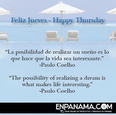 Feliz Jueves - Happy Thursday