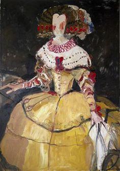 Anton Martineau, exposicines en galería de arte de Barcelona Dalmau. Homenaje a Velazquez