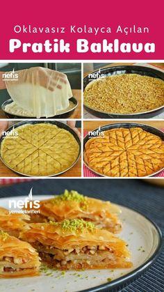 No Bake Desserts, Delicious Desserts, Turkish Recipes, Ethnic Recipes, Recipe Box, Health Tips, Waffles, Cake Recipes, Recipies