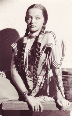 braids came from american indian styles