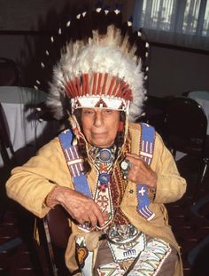 Iron Eyes Cody     American actor Iron Eyes Cody was famous for playing Native American characters, and claimed to be descended from the Cherokee-Cree clan. In 1996, however, a newspaper investigation claimed that he was actually of Italian parentage – though he denied this till the end of his life.  Picture: BEI/Rex Features