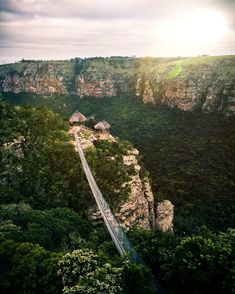 Would you cross this awe-inspiring suspension bridge? 😵 It's located at Lake Eland Game Reserve near the magnificent Oribi Gorge canyon in southern KwaZulu-Natal.   Click on pic to find accommodation in Oribi Gorge.   Post via South Africa Tourism @VisitSA_UK Photo by I/G @drhvisuals Oman Travel, Greece Travel, Hawaii Travel, Africa Travel, Kazakhstan Travel, Kwazulu Natal, Suspension Bridge, Game Reserve, Seaside Towns