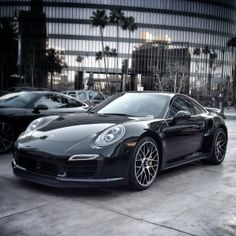 What Batman drives on his day off… #Porsche #BHP 911 Turbo S Coupe for sale at Beverly Hills Porsche www.BeverlyHillsPorsche.com