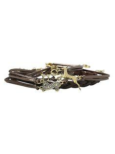 Harry Potter Logo Bracelet 4 Pack | Hot Topic