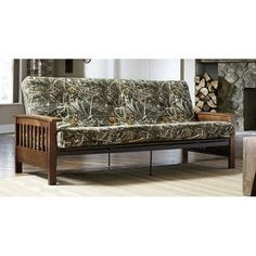 Serta Florence Futon Frame With Realtree 6 Mattress See This Great Product