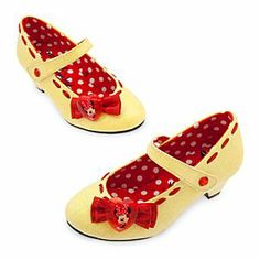 Disney Minnie Mouse Mary Jane Shoes for Girls  size 7/8