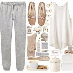 ~ ♥ Oh my gosh what a comfy lounge outfit for a cold day ♥ ~ outfit lazy days Lounge Outfit, Lounge Wear, Lazy Outfits, Winter Outfits, Casual Outfits, Lazy Day Outfits For Summer, Winter Clothes, School Outfits, Look Fashion