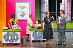 """Choreography showcases students' dance moves in """"How to Succeed in Business Without Really Trying"""""""
