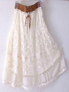 Lapis boho skirt I found this exact skirt in a thrift store! I love it :D My favorite skirt♥