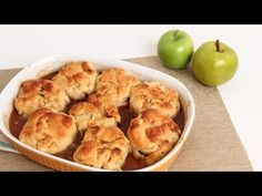 Homemade Apple Dumplings Recipe - Laura Vitale - Laura in the Kitchen Episode 829 - YouTube