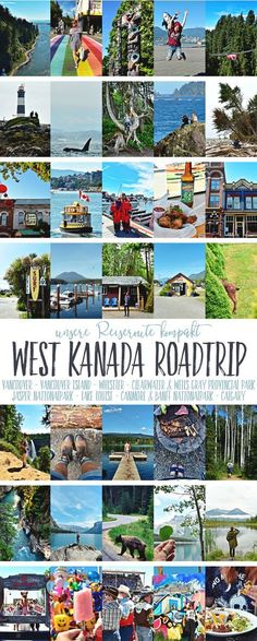 West Canada Roadtrip - Our Itinerary, Attractions, Accommodations and Must Dos Quite Compact - Reisetipps / Travel - Travel Route, Europe Travel Tips, Us Travel, Banff, Quito, Road Trip, Les Continents, Us Destinations, Attraction