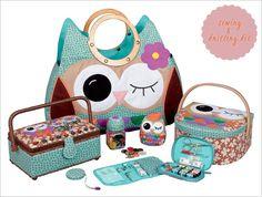 John Lewis Owl Sewing and Knitting Range