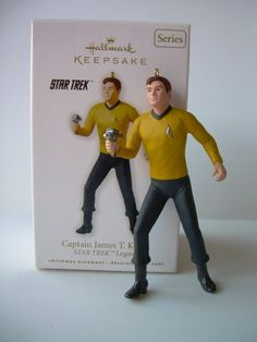 Captain James T. Kirk Star Trek Legends #1 In Series 2010 Hallmark Ornament QX8373