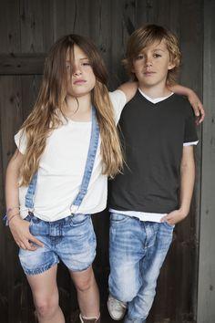 I Dig Denim #SS13 #kindermodeblog