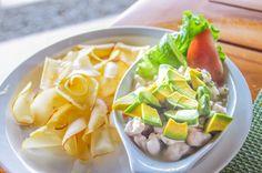 Sea bass ceviche with cassava chips Punta Islita Hotel Islita, Costa Rica #restaurant #food #foodie