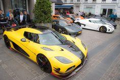 Koenigsegg organiseert feestje voor eigenaren