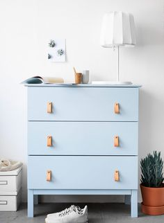 Tarva is one of the most popular dressers by Ikea, and I'm sure that most of you have one or more at home. But Ikea is known for making plain . Ikea Diy, Best Ikea, Diy Dresser, Diy Furniture, Furniture Hacks, Ikea, Home Decor, Ikea Dresser Hack, Furniture Design