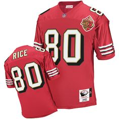 Jerry Rice Authentic Mitchell and Ness Jerry Rice Authentic Jersey at Shop. (Authentic Mitchell and Ness Men's Jerry Rice Red Patch Jersey) San Francisco Home NFL 1996 Throwback Easy Returns. Nfl Shop, Jerry Rice, Nike Nfl, Hats For Sale, San Francisco 49ers, Football Jerseys, Sportswear, Hoodies, Hoodie