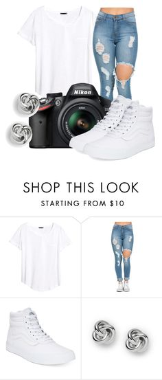 """""""Untitled #481"""" by msfts-rep on Polyvore featuring H&M, Nikon, Vans and FOSSIL"""