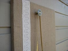 Magnet memo Board over a box style frame made by jensdreamdecor