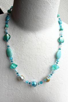 Collier Plages du Lido, perles de collection