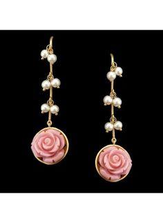 Desert Rose  #Silver #Designer #Pretty #Coral #Musthave #buyonline