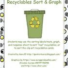 This is an activity for math and/or science centers during Earth Day celebrations or a unit on recycling. Students sort the recyclables cards into ...