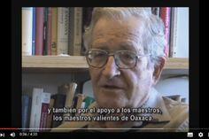 """Expresa Chomsky su apoyo a los """"maestros valientes"""" de Oaxaca   La Jornada Baja California"""