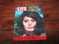 1963 Life International Magazine Sophie Loren JFK Lee Oswald by VintageBlackCatz on Etsy