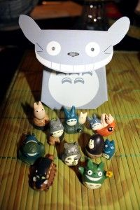 DIY Totoro favor/gift box.