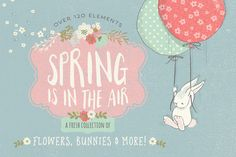 40%off The Fresh Spring Collection by Lisa Glanz on @creativemarket